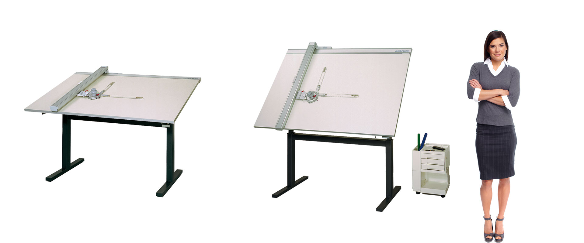 Drafting table ergo M2